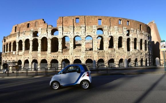 Buongiorno Roma: il servizio di car-sharing one way di car2go arriva nella Capitale