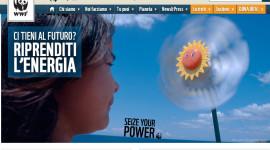 WWF: sostenere l'energia rinnovabile