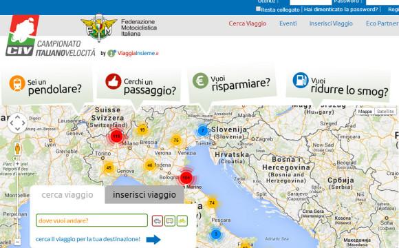 Campionato Italiano Velocità sempre più green: a Vallelunga in carpooling con ViaggiaInsieme
