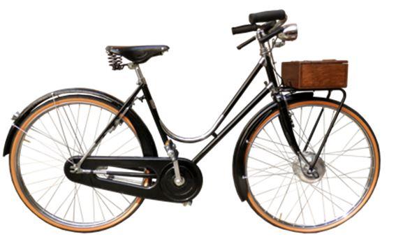 Chrome & Wood: l'eleganza di una bici elettrica