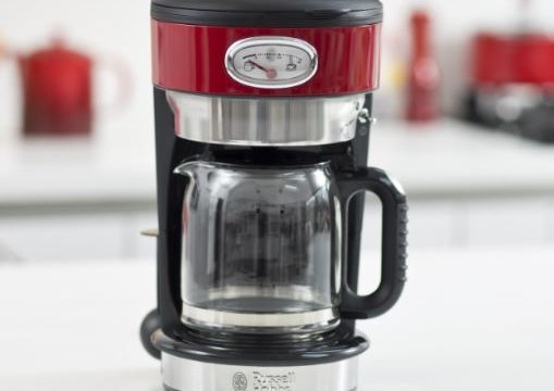 Nuova macchina per il caffè RETRO di Russell Hobbs per una pausa caffè in puro stile rockabilly