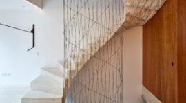 Il ciliegio americano rende più elegante la casa di Londra  realizzata da Amin Taha Architects + GROUPWORK