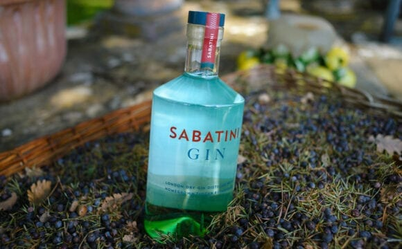 SABATINI GIN, il London dry gin dallo spirito toscano  da gustare durante le feste